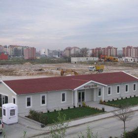 Prefabrik şantiye binası
